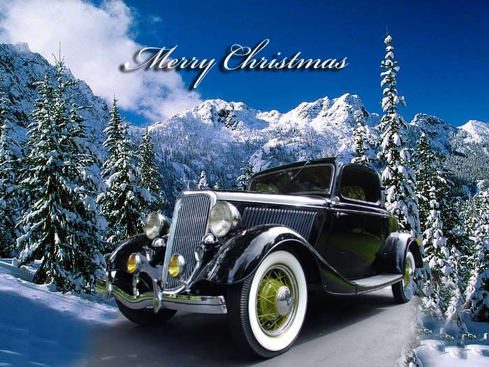 Image result for car merry christmas